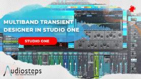 Studio One Multiband Transient Designer
