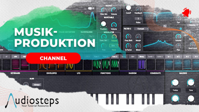 Musikproduktion Channel Cover