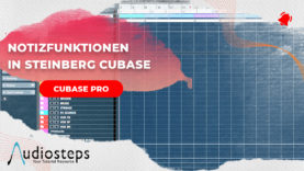 Notizfunktionen in Cubase
