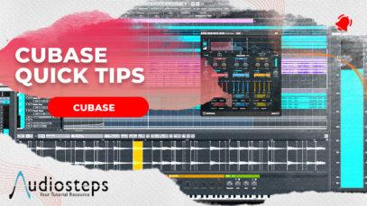cubase quick tip tutorials