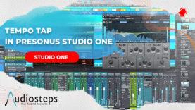 Tempo BPM Tap in Studio One