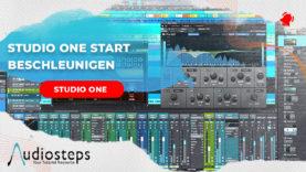 Studio One Start beschleunigen