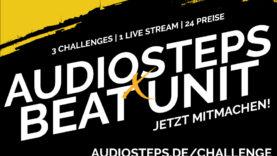 AUDIOSTEPS X BEAT UNIT CHALLENGE BANNER