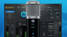 presonus revelator usb mic for podcast and streamer